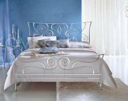 Роскошная кровать кованая rk-0910