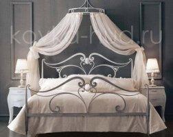 Роскошная кровать кованая rk-0913