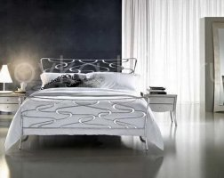Роскошная кровать кованая rk-0914