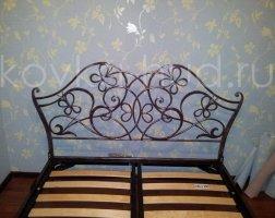 Роскошная кровать кованая rk-0918