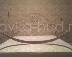 Роскошная кровать кованая rk-0919
