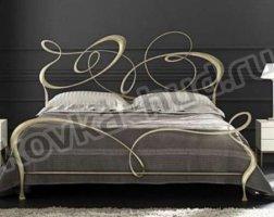 Роскошная кровать кованая rk-0920