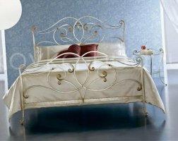 Роскошная кровать кованая rk-0924