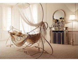 Роскошная кровать кованая rk-0926
