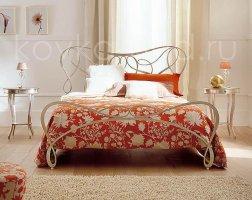 Роскошная кровать кованая rk-0927