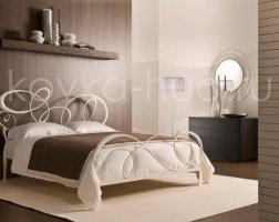 Роскошная кровать кованая rk-0928