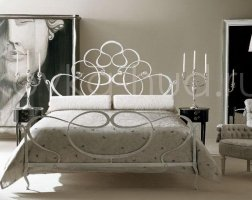 Роскошная кровать кованая rk-0930