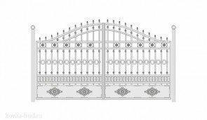 Кованые ворота эскиз №41